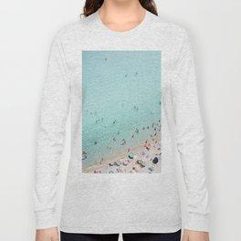 Busy Beach Long Sleeve T-shirt