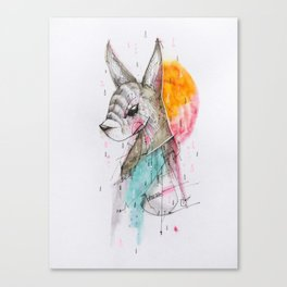 UNFOLLOWED Canvas Print