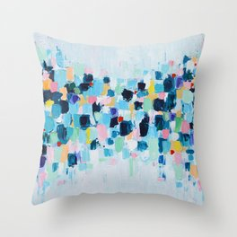 Spotted Sky Throw Pillow