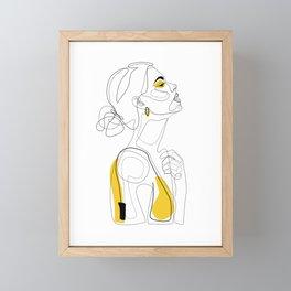 Color Beauty Framed Mini Art Print