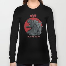 Gojira Kaiju Alpha Long Sleeve T-shirt