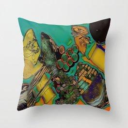 Ploughman's Feast Throw Pillow