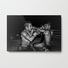This is Muay Thai. Metal Print