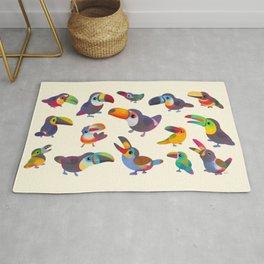 Toucan - pastel Rug