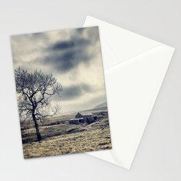 Lancashire farm house Stationery Cards