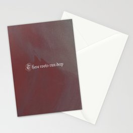These roots run deep Stationery Cards