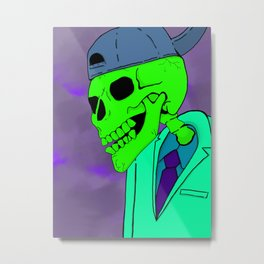 AFTER DEATH Metal Print
