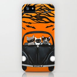 A Spooky Halloween Drive iPhone Case
