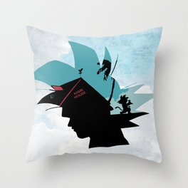 Kame House V2 Throw Pillow