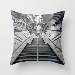 9th Street Station / PATH Throw Pillow