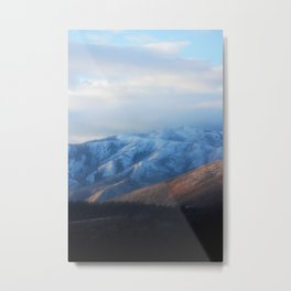 Blue Mountains at Dawn Metal Print