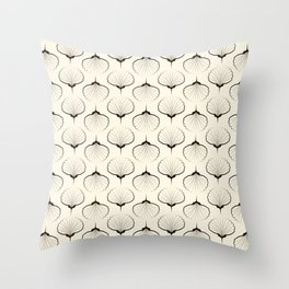 "Art Deco . No. 18 ""Shells."" Throw Pillow"