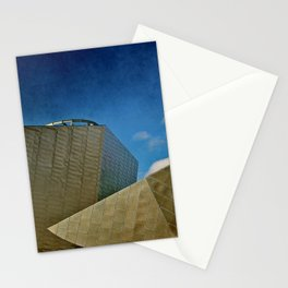 Roof Line Stationery Cards