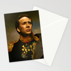 Nicolas Cage - replaceface Stationery Cards