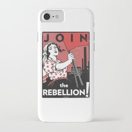 Join The Rebellion! iPhone Case
