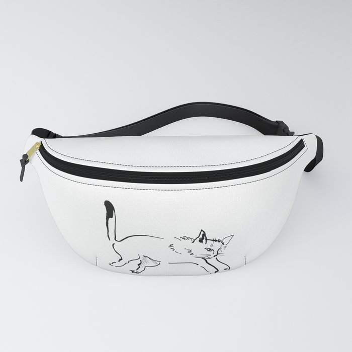 Jumping Cat Fanny Pack
