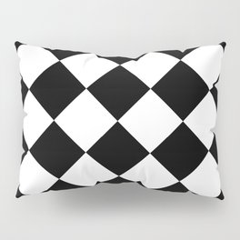 Rhombuses (Black & White Pattern) Pillow Sham