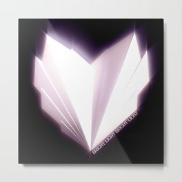 How To Make A Heart Metal Print