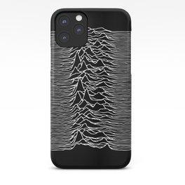 Joy Division lines iPhone Case
