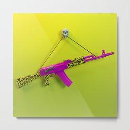 AK47 Metal Print