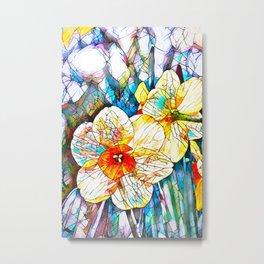 Daffodils 16 Metal Print