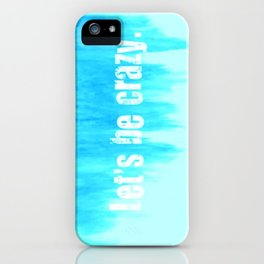 NEW Ombre - Blue - I Want Crazy - Hunter Hayes iPhone Case