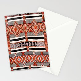 Ait Ouaouzguite South Morocco North African Rug Print Stationery Cards