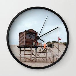 Lifeguard's cabin Wall Clock