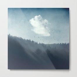 Translucent Forest Metal Print