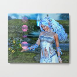 Mysticals Lake Metal Print