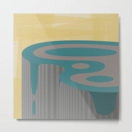 Plateau - 1 Metal Print