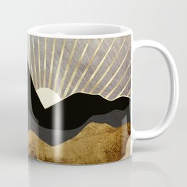 Copper and Gold Mountains Coffee Mug