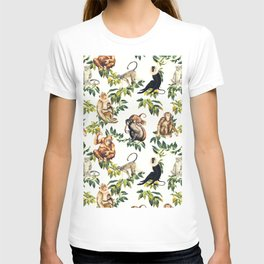 Monkeys, orangutans and more T-shirt