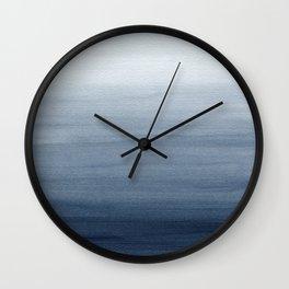 Ocean Watercolor Painting No.2 Wall Clock
