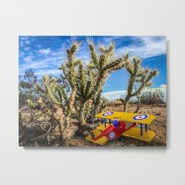 Desert Bipe Metal Print