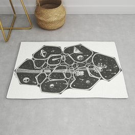 Space Forest Rug