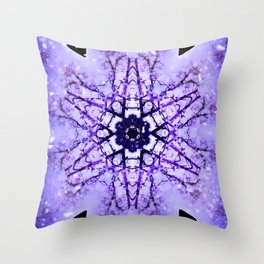 The Dance Of The Snowflake Throw Pillow