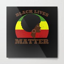 Black Lives Matter Movement Metal Print