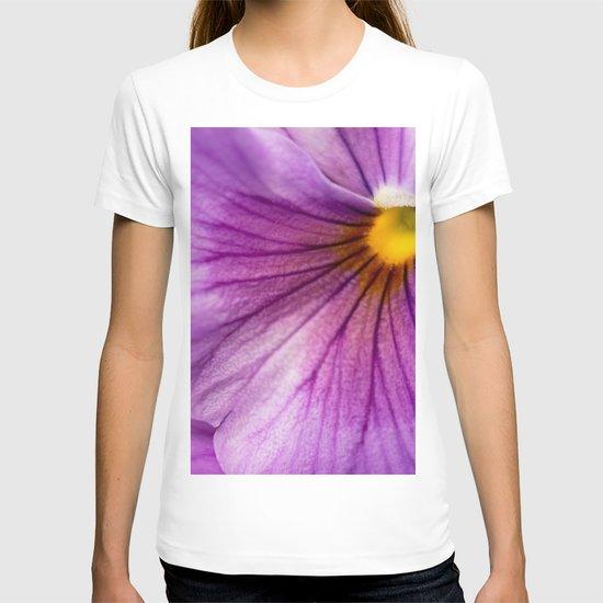 Purple Pansy Flower Close-up #decor #society6 #buyart by pivivikstrm