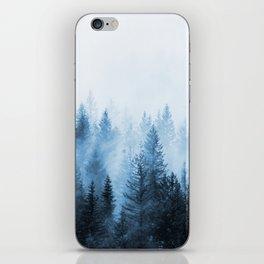 Misty Winter Forest iPhone Skin