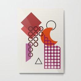 Abstract No.18 Metal Print