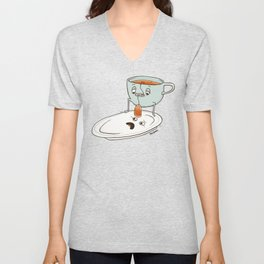 Tea Baggin' Unisex V-Neck