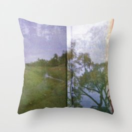 River runs through it Throw Pillow