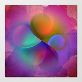 crossing colors -a- Canvas Print