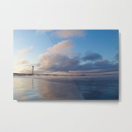 Näsijärvi lake and Näsinneula observatory Metal Print