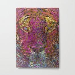 magic mandala 42 #magic #mandala #decor Metal Print