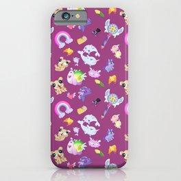 Star vs the Forces of Evil Pattern ( Pink ) iPhone Case