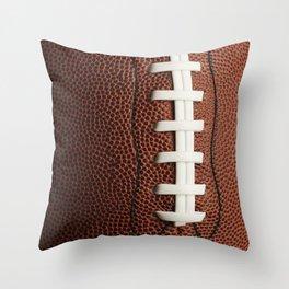 Football Throw Pillow