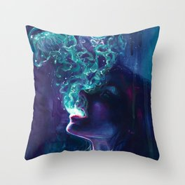 The Ghostmaker Throw Pillow