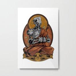 passion of meditation Metal Print